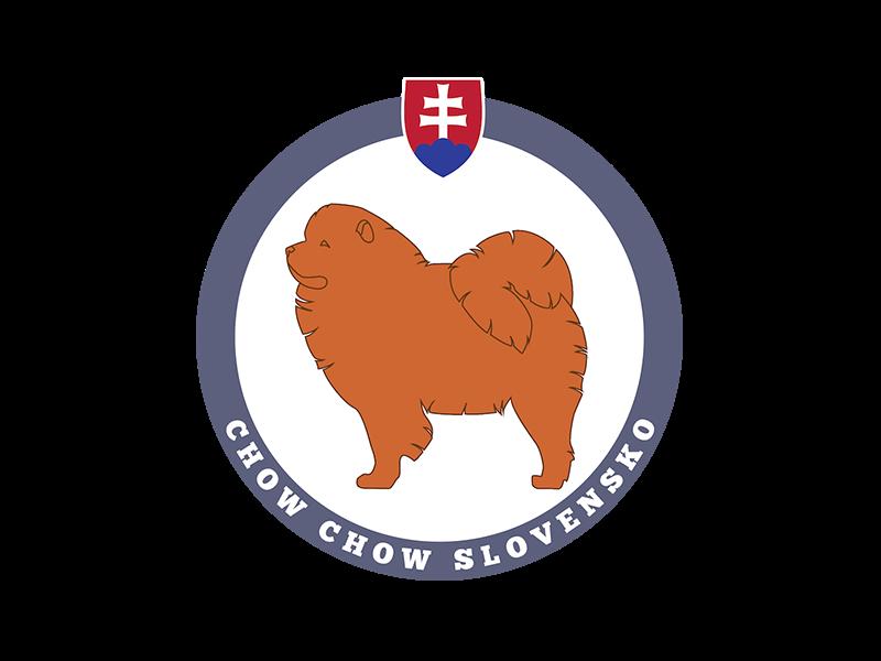 Logo Klubu chovateľov plemena Chow Chow Slovensko