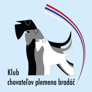 Vektorové logo pre Klub chovateľov plemena bradáč.