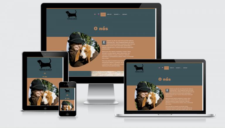 Vytvorenie web stránky pre chovateľskú stanicu